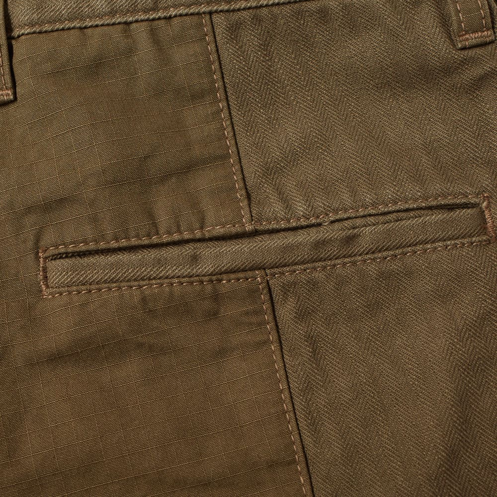 FDMTL Patchwork Shorts - Khaki