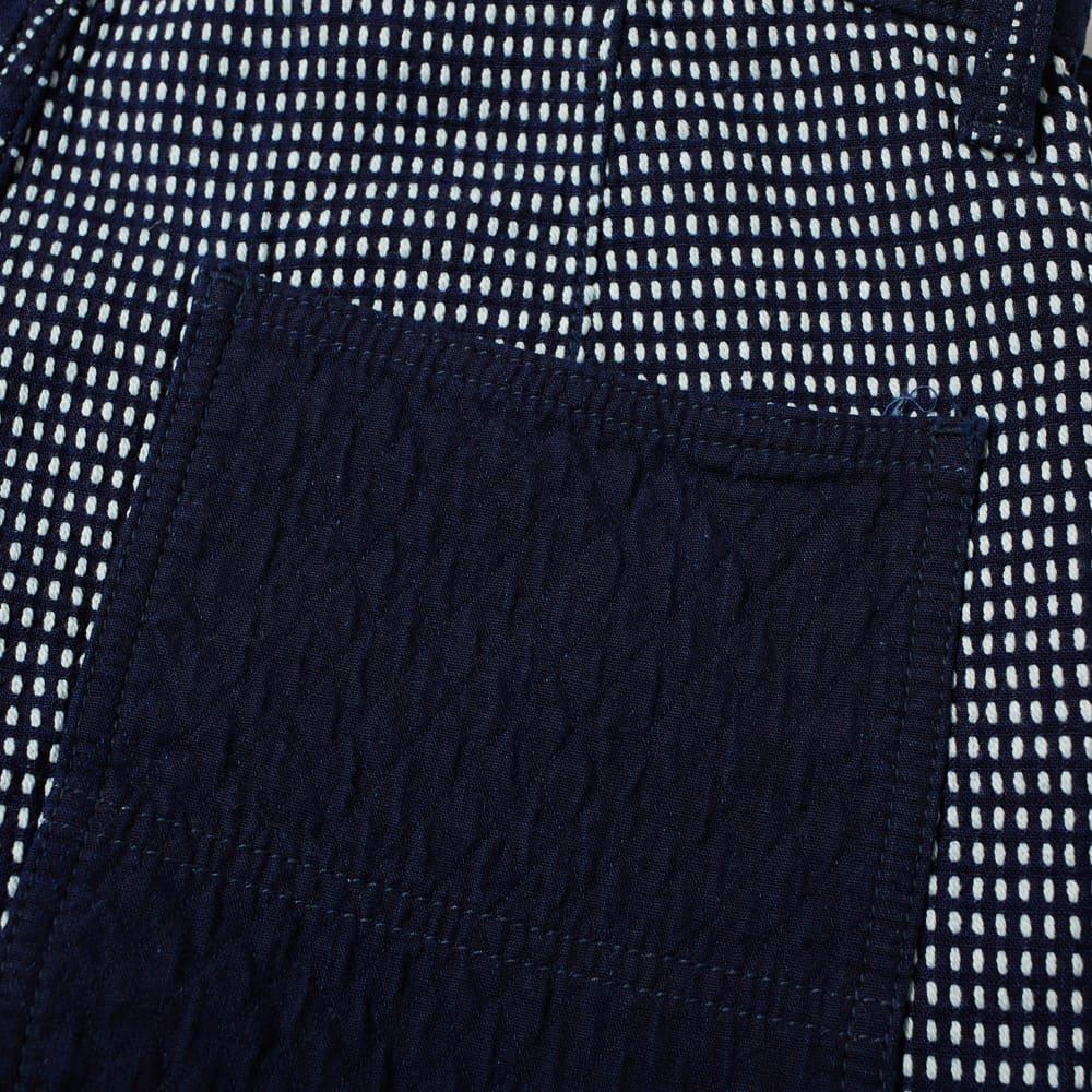 FDMTL Sashiko Short - Indigo
