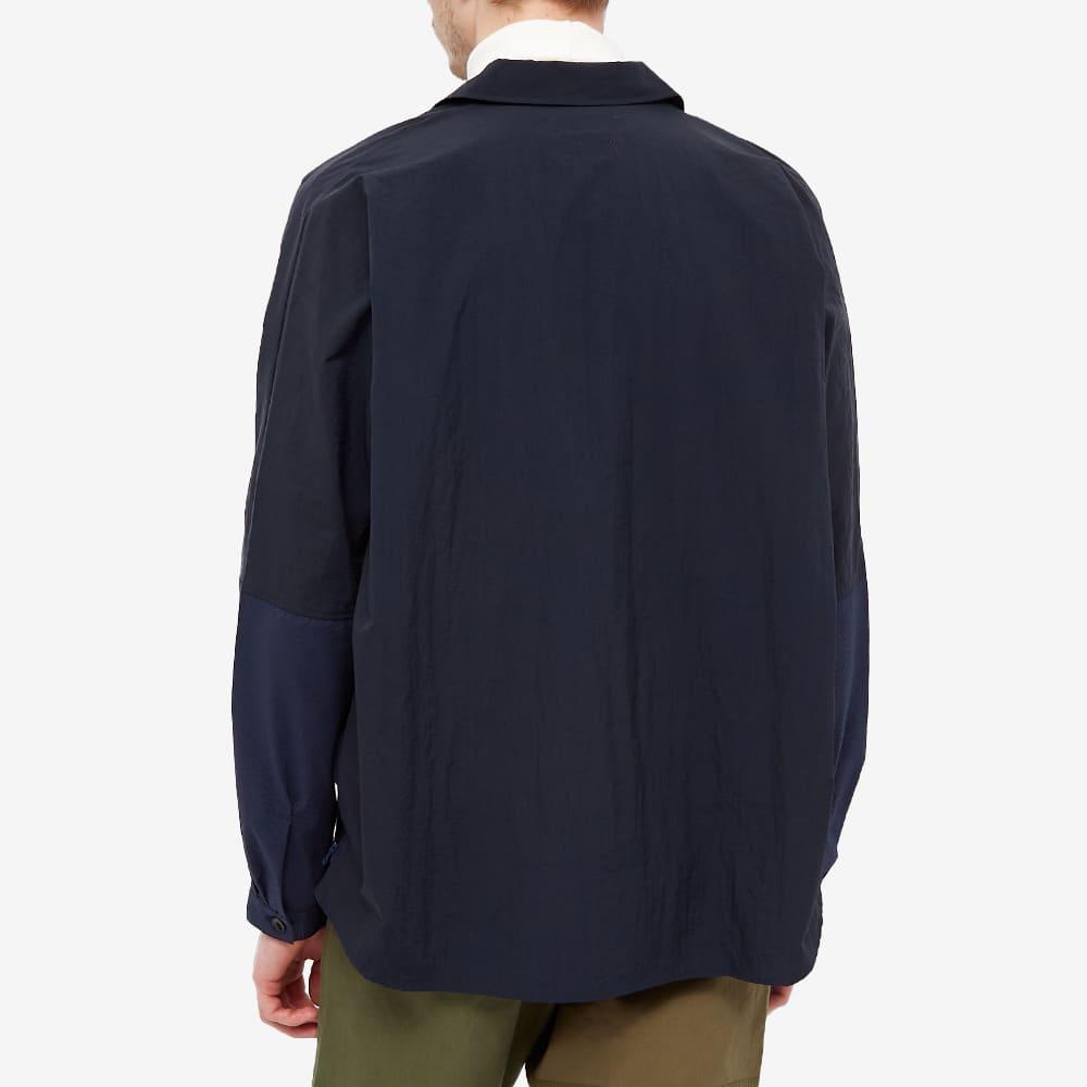 FDMTL Side Zip Oversized Shirt - Navy