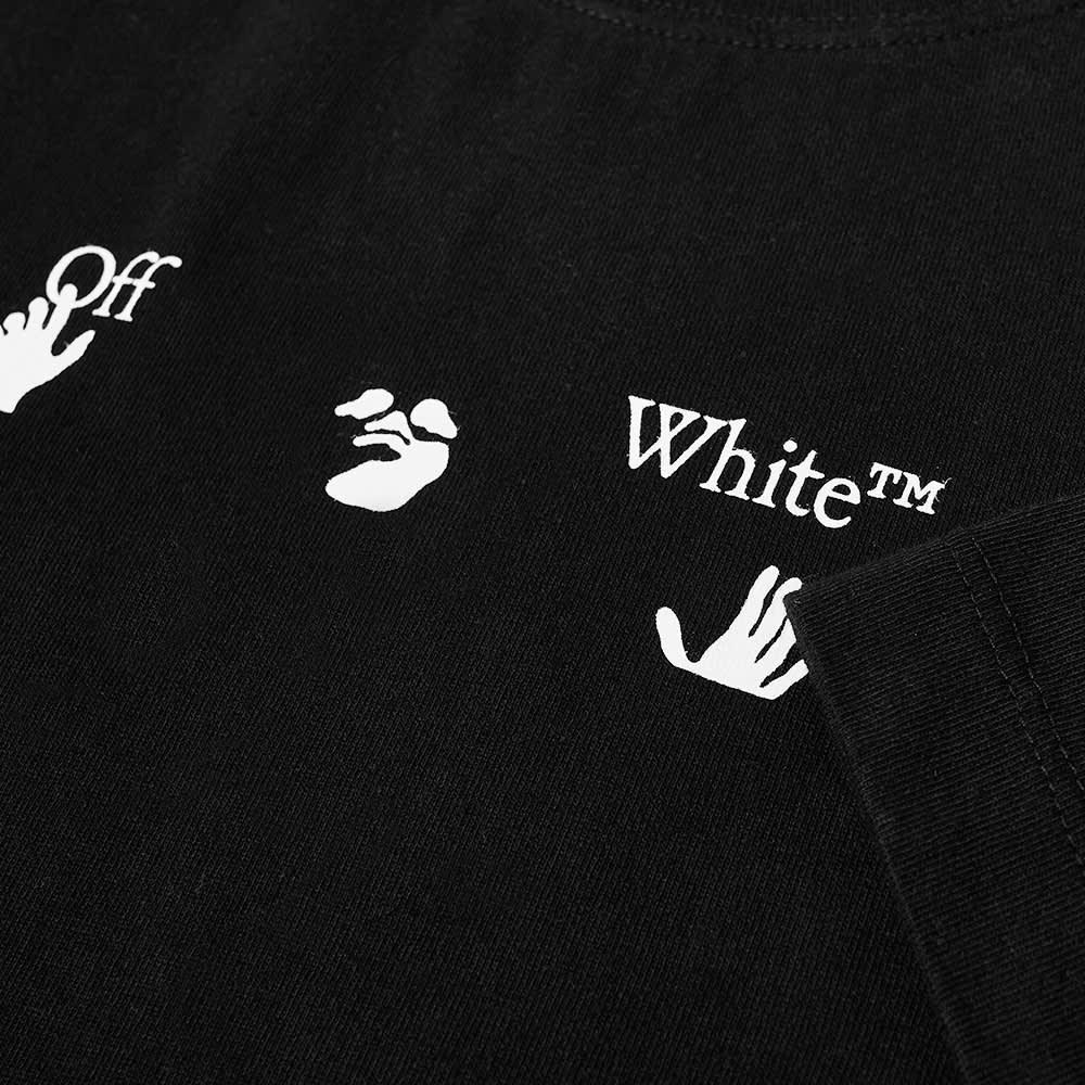 Off-White Black Marker Over Tee - Black