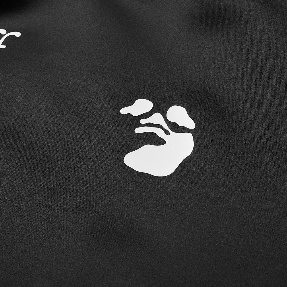 Off-White OW Logo Varsity Jacket - Black & White