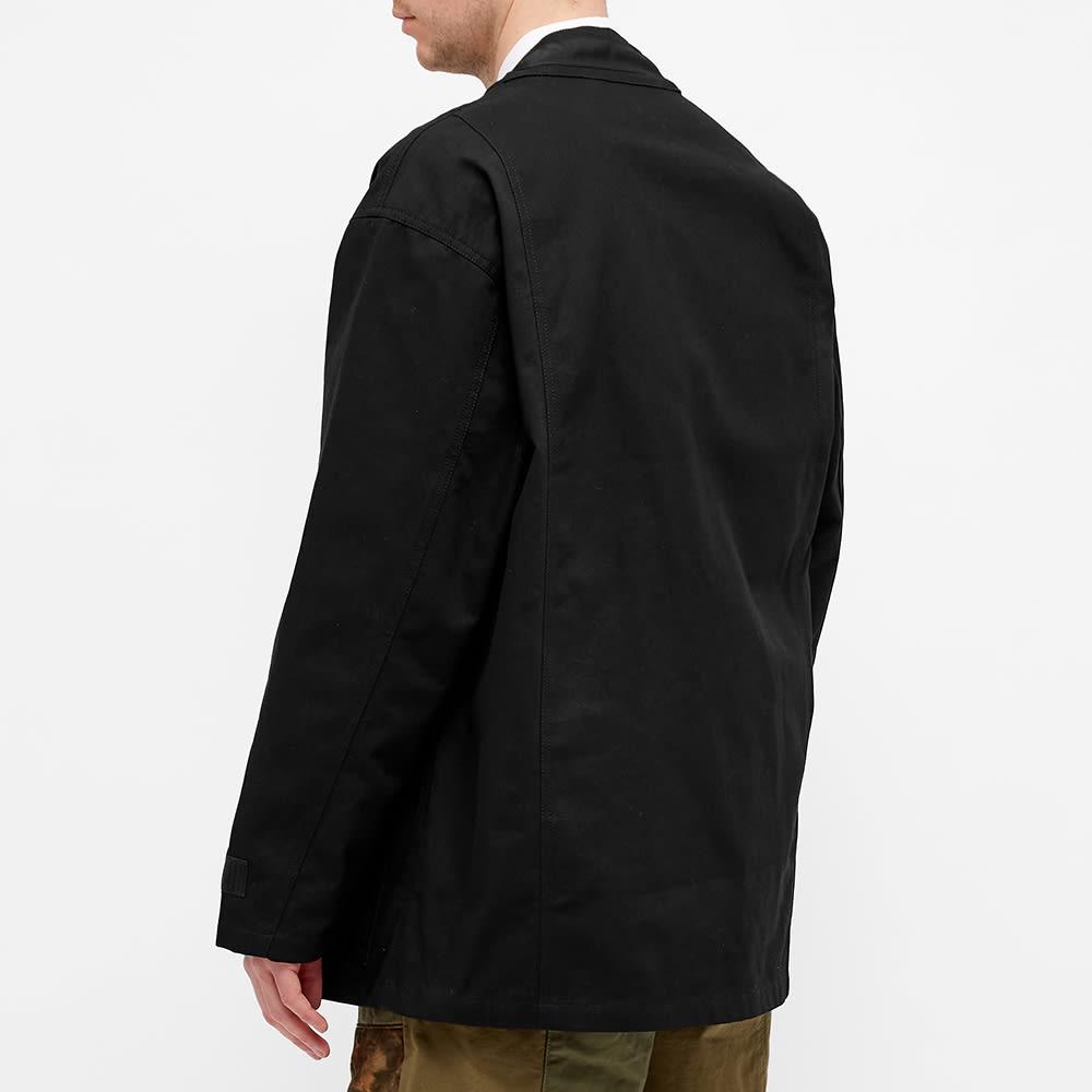 FDMTL Military Haori Jacket - Black