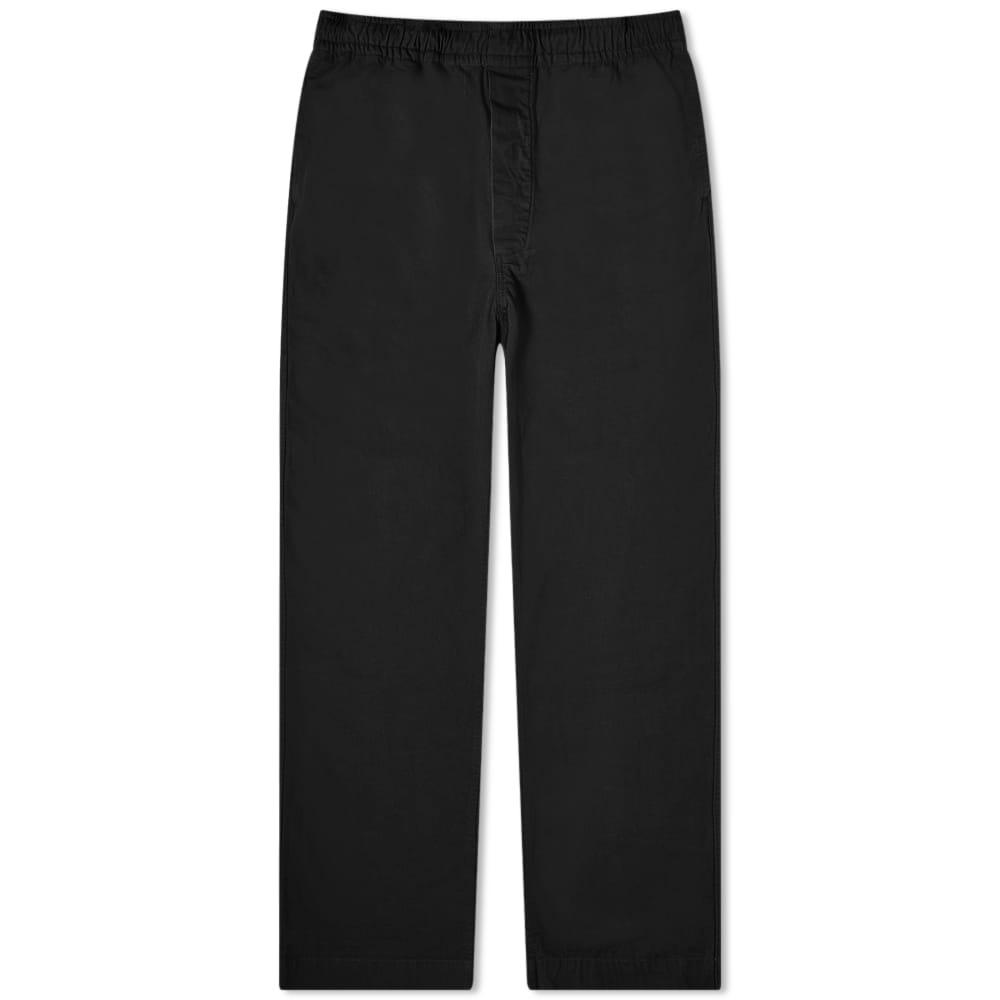 MHL. by Margaret Howell Pull Up Trouser - Black