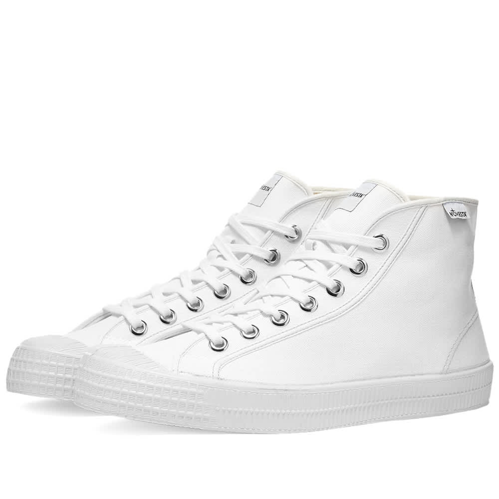 Novesta Star Dribble Contrast - White & Grey