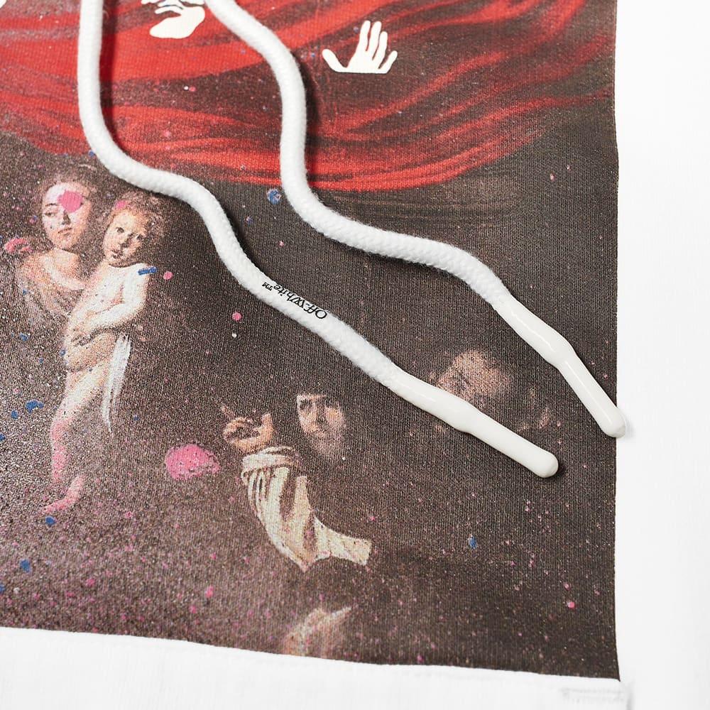Off-White Sprayed Caravaggio Over Hoody - White