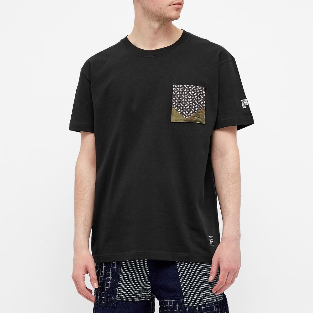 FDMTL Origami Pocket Tee - Black