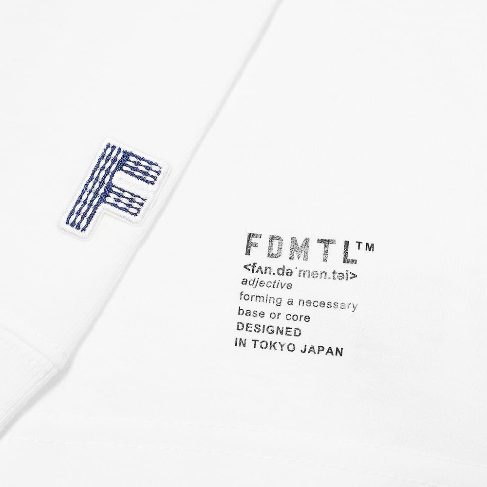 FDMTL L/S Boro Patch Tee - White