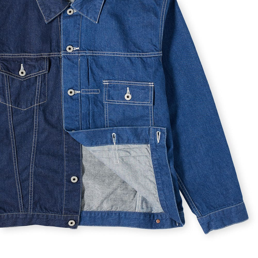 FDMTL Denim Jacket Rinse - Indigo