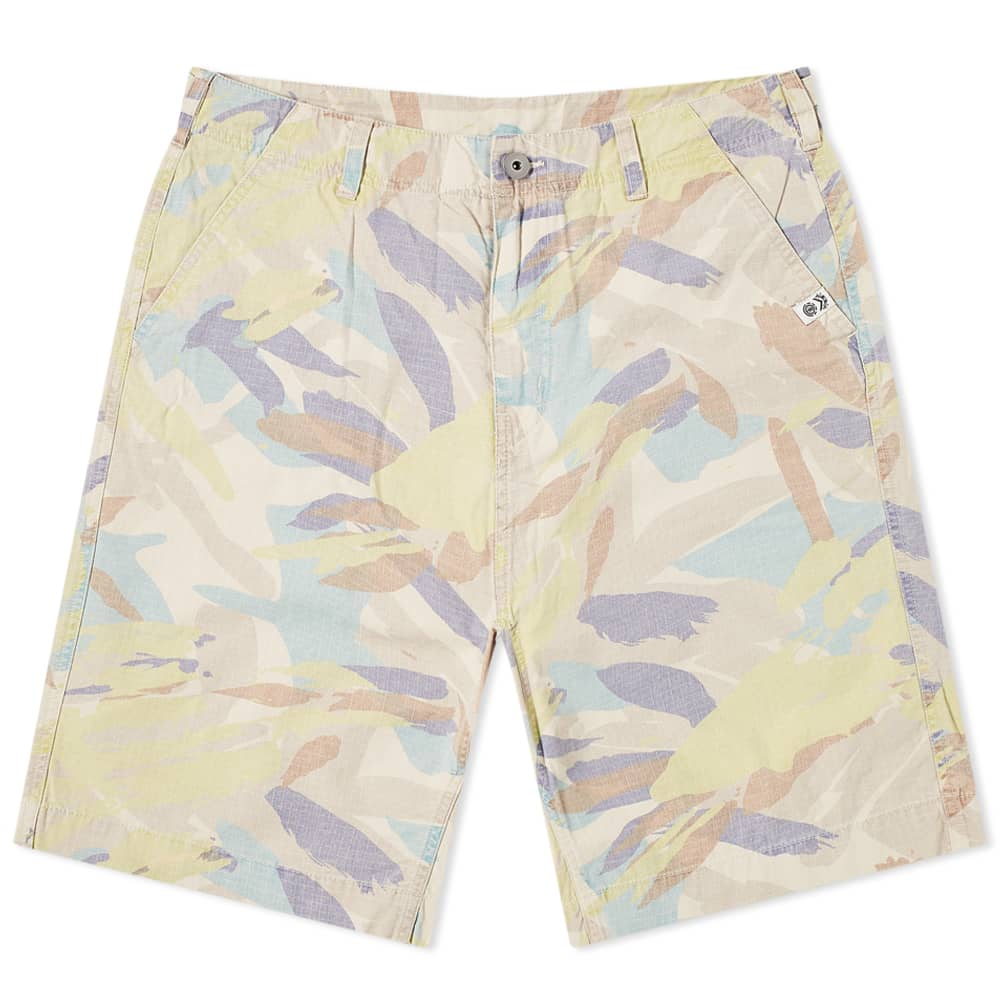 Element X Nigel Cabourn Camo Overall Short - Abstract Camo