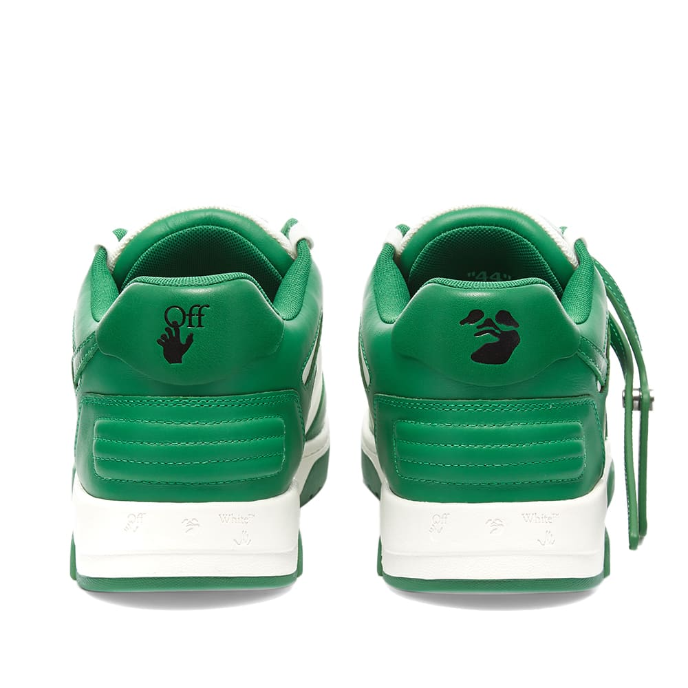 Off-White Out Of Office Calf Leather - White & Green