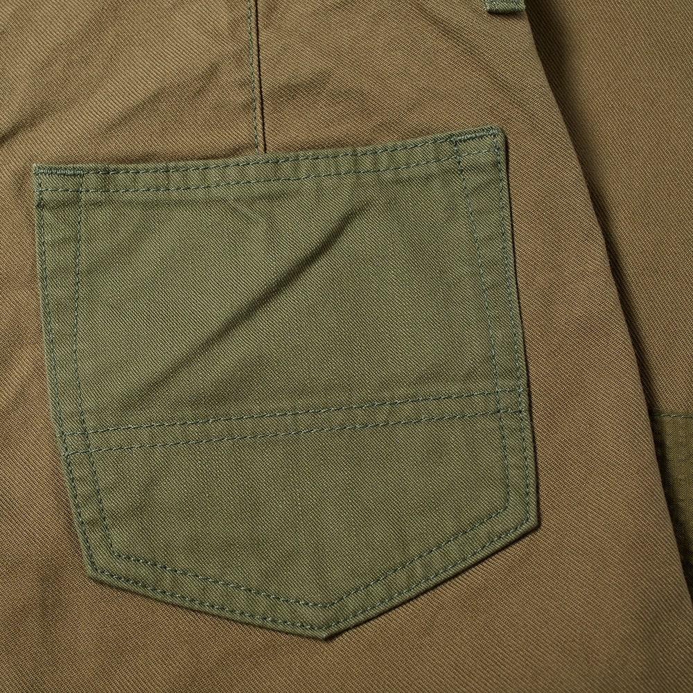 FDMTL BORO PATCHWORKS PANT - Khaki