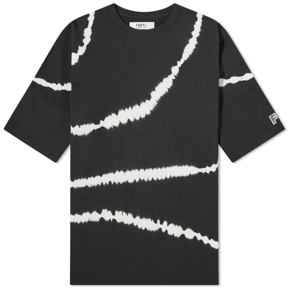 FDMTL Tie Dye Wide Tee - Black