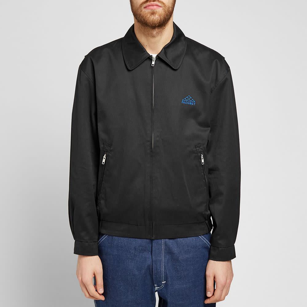 PACCBET Zip Jacket - Black
