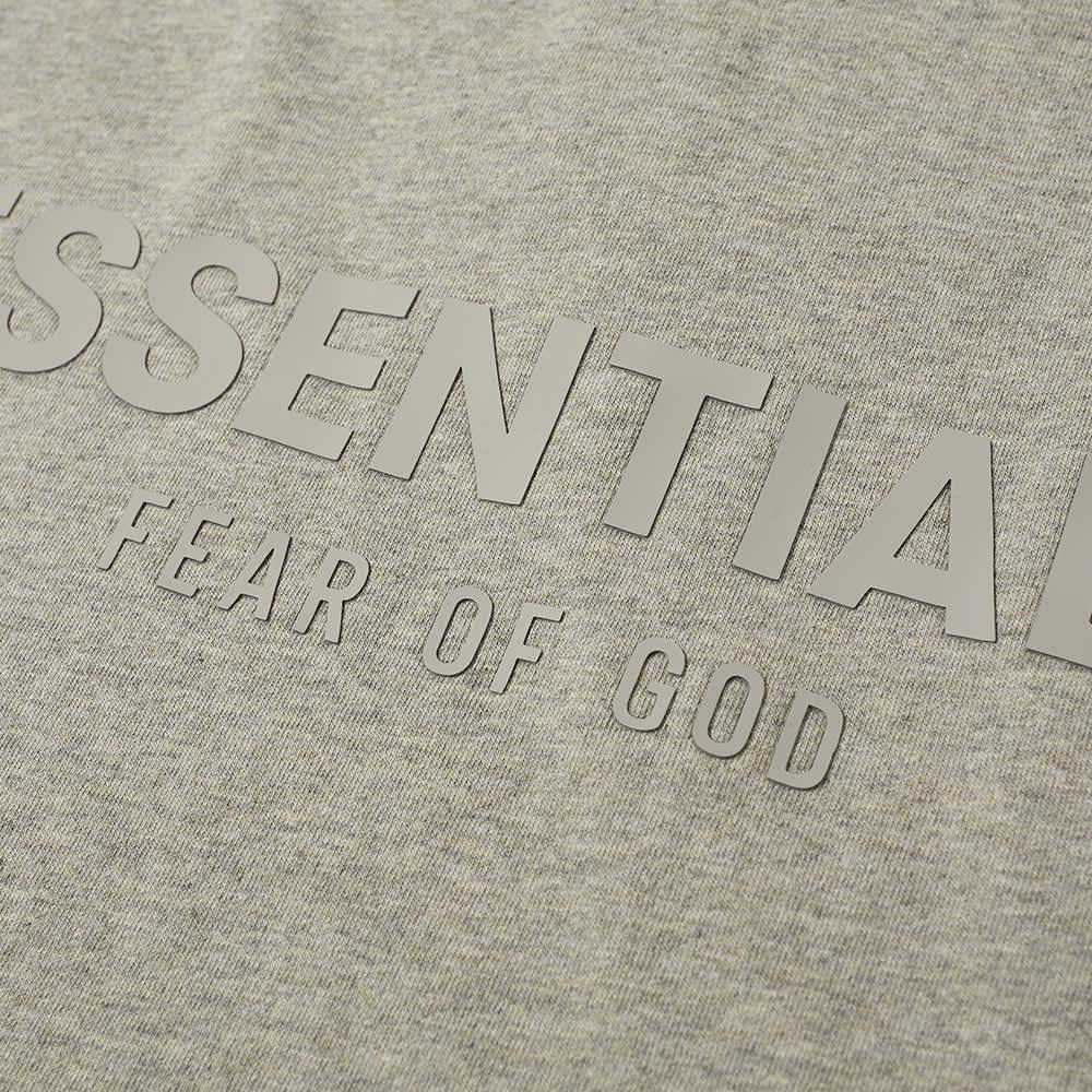 Fear of God ESSENTIALS Polo - Dark Heather Oatmeal