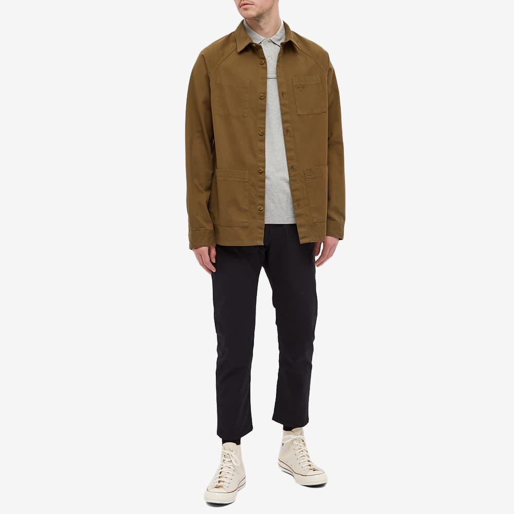 Barbour Beacon Woods Overshirt - Uniform Green