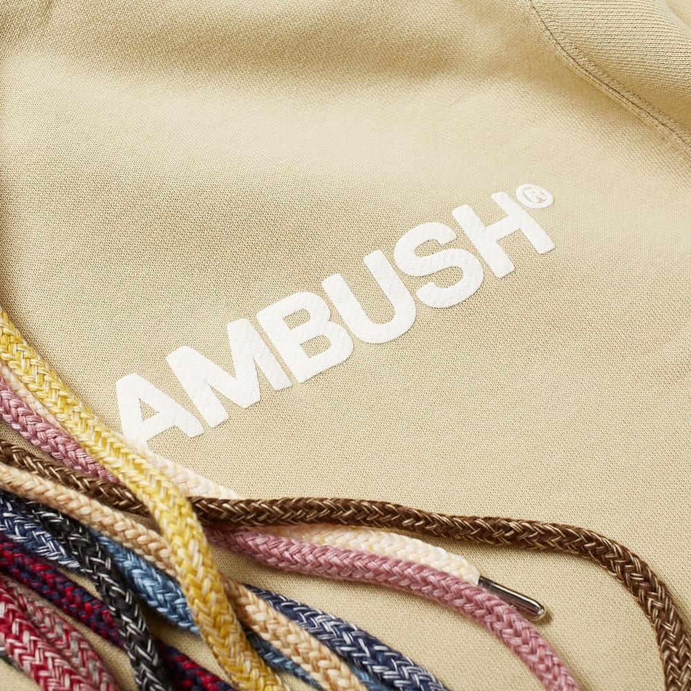 Ambush Multicord Popover Hoody - Sand & White