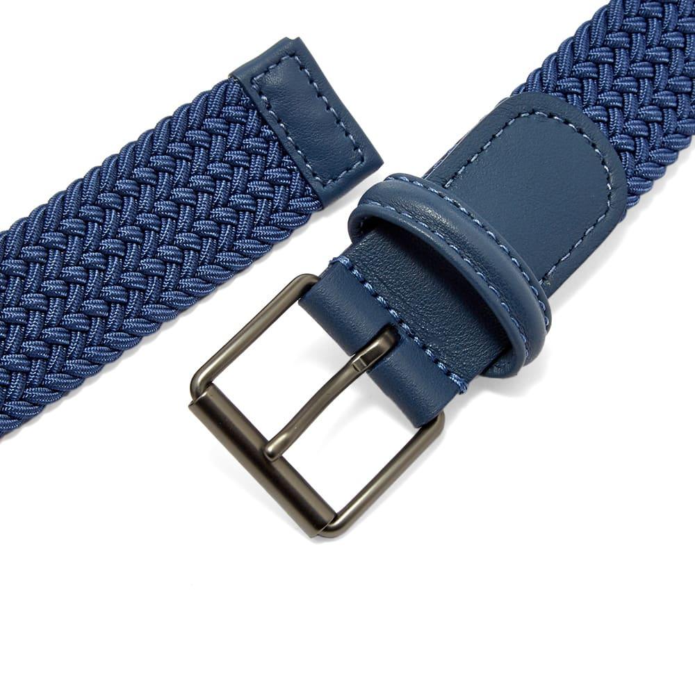 Anderson's Slim Woven Textile Belt - RAF Blue