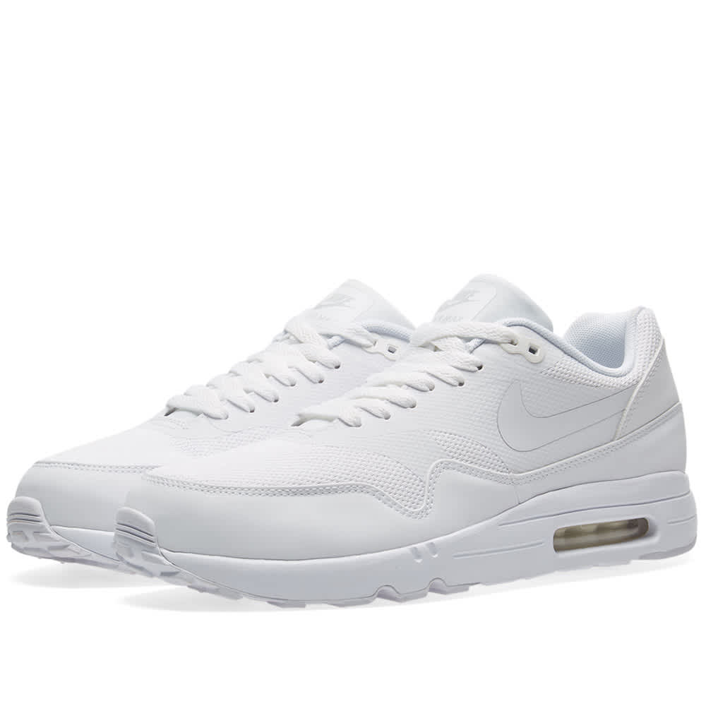 nike air max 1 essential white platinum