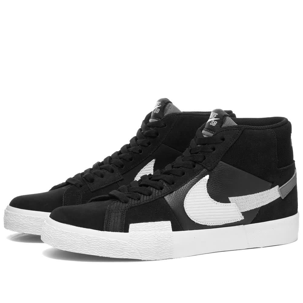 Nike SB Zoom Blazer Mid Premium - Black, White & Grey