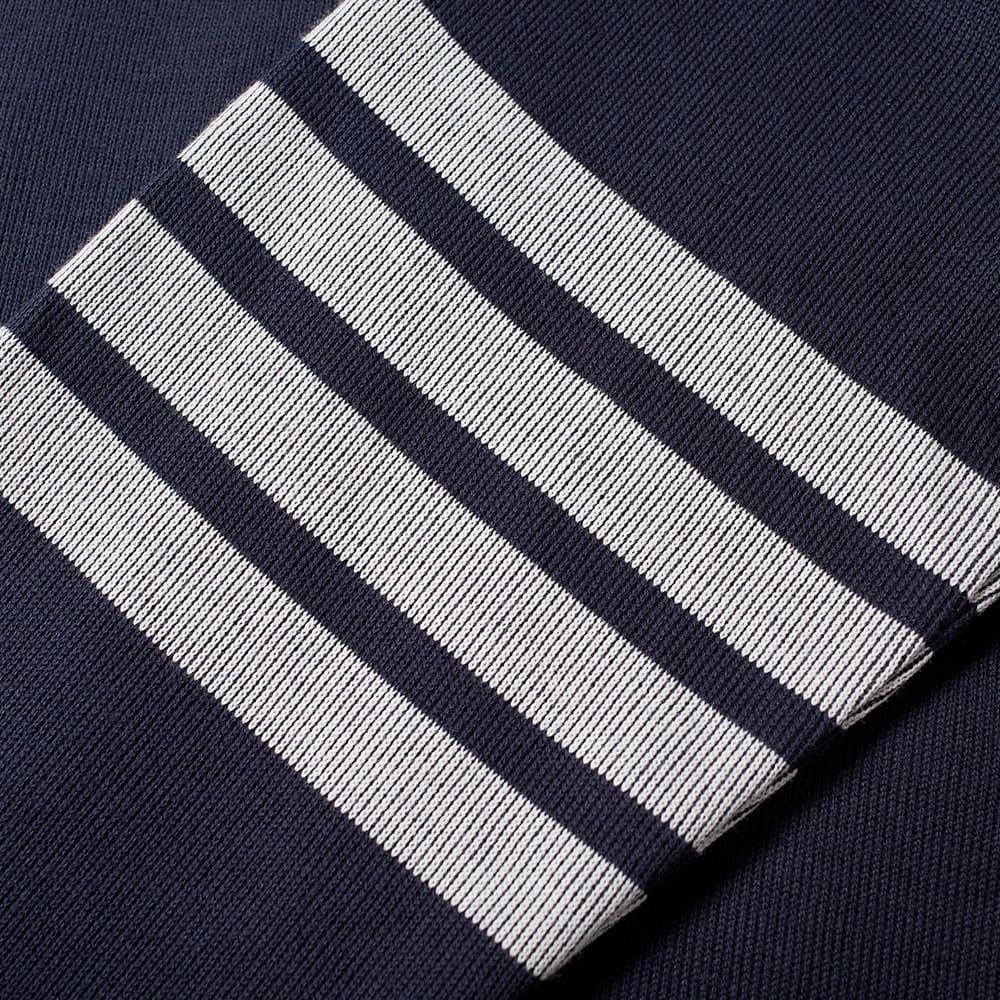 Thom Browne 4 Bar Half Zip Funnel Neck Sweat - Navy