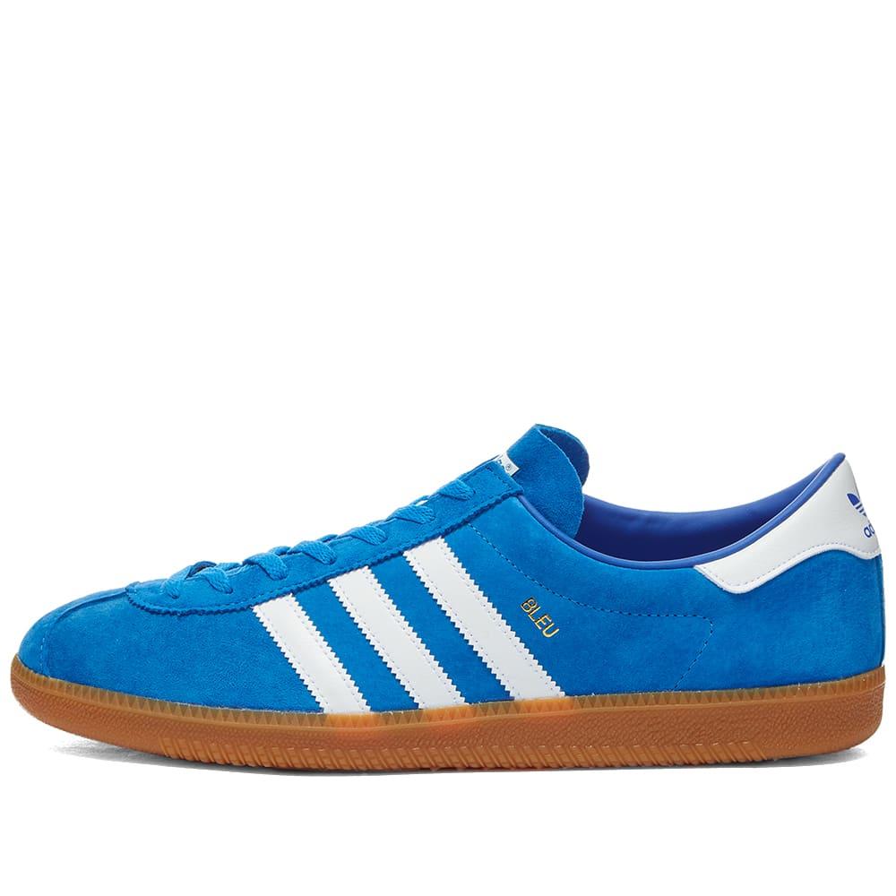 Adidas Bleu - Blue, White & Gold