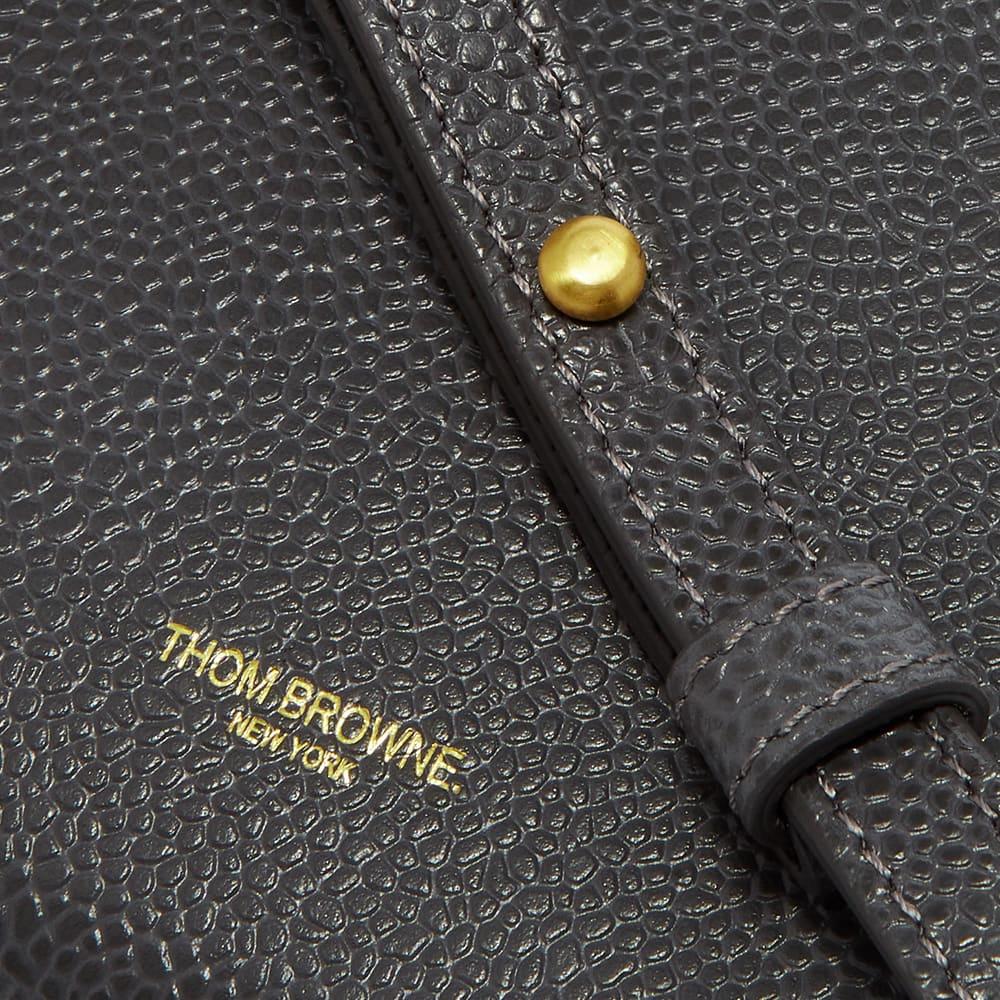 Thom Browne Crossbody Phone Holder - Dark Grey