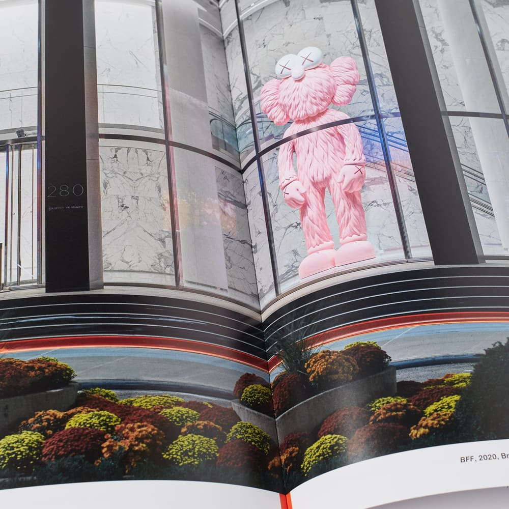 Phaidon KAWS, WHAT PARTY? - Pink Edition Brooklyn Museum