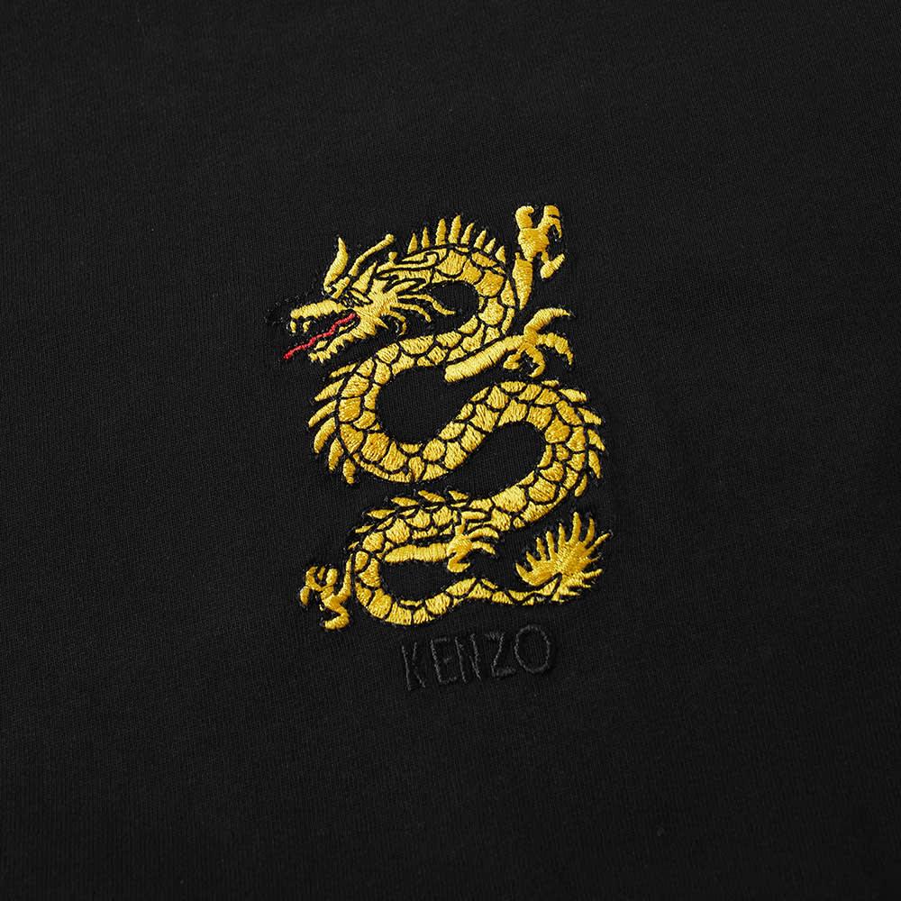 Kenzo Embroidered Dragon Tee - Black