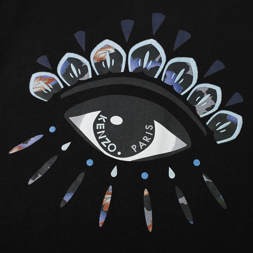 Kenzo Eye Embroidered Tee - Black