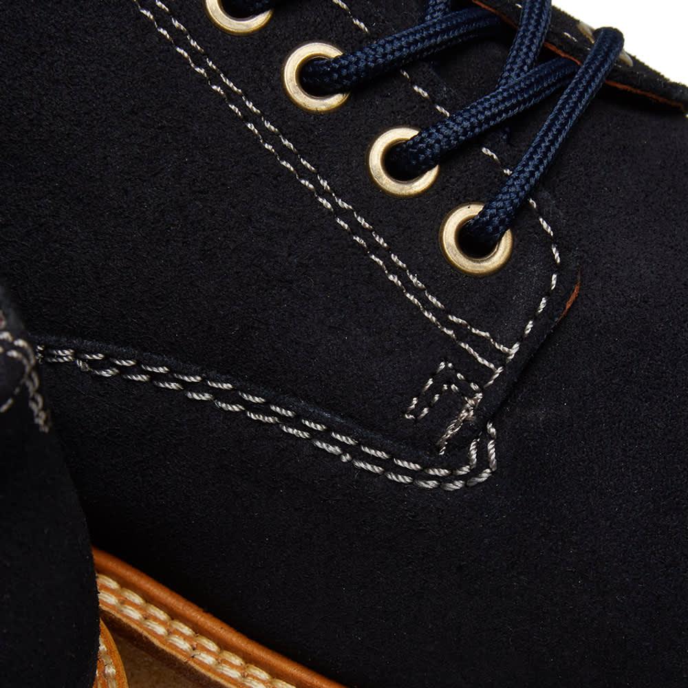 Wild Bunch Classic 5 Eyelet Shoe - Navy Suede