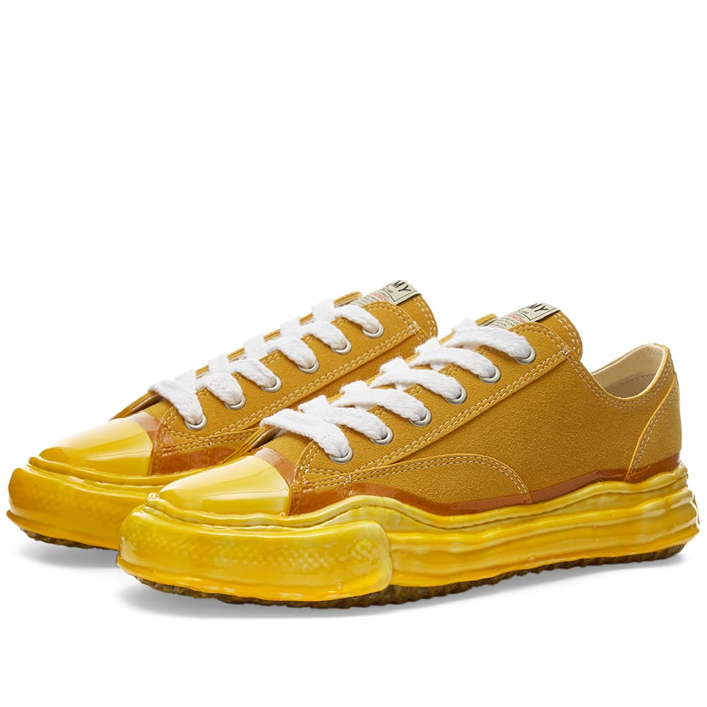 Maison MIHARA YASUHIRO Original Sole Dip Lowcut Sneaker - Yellow