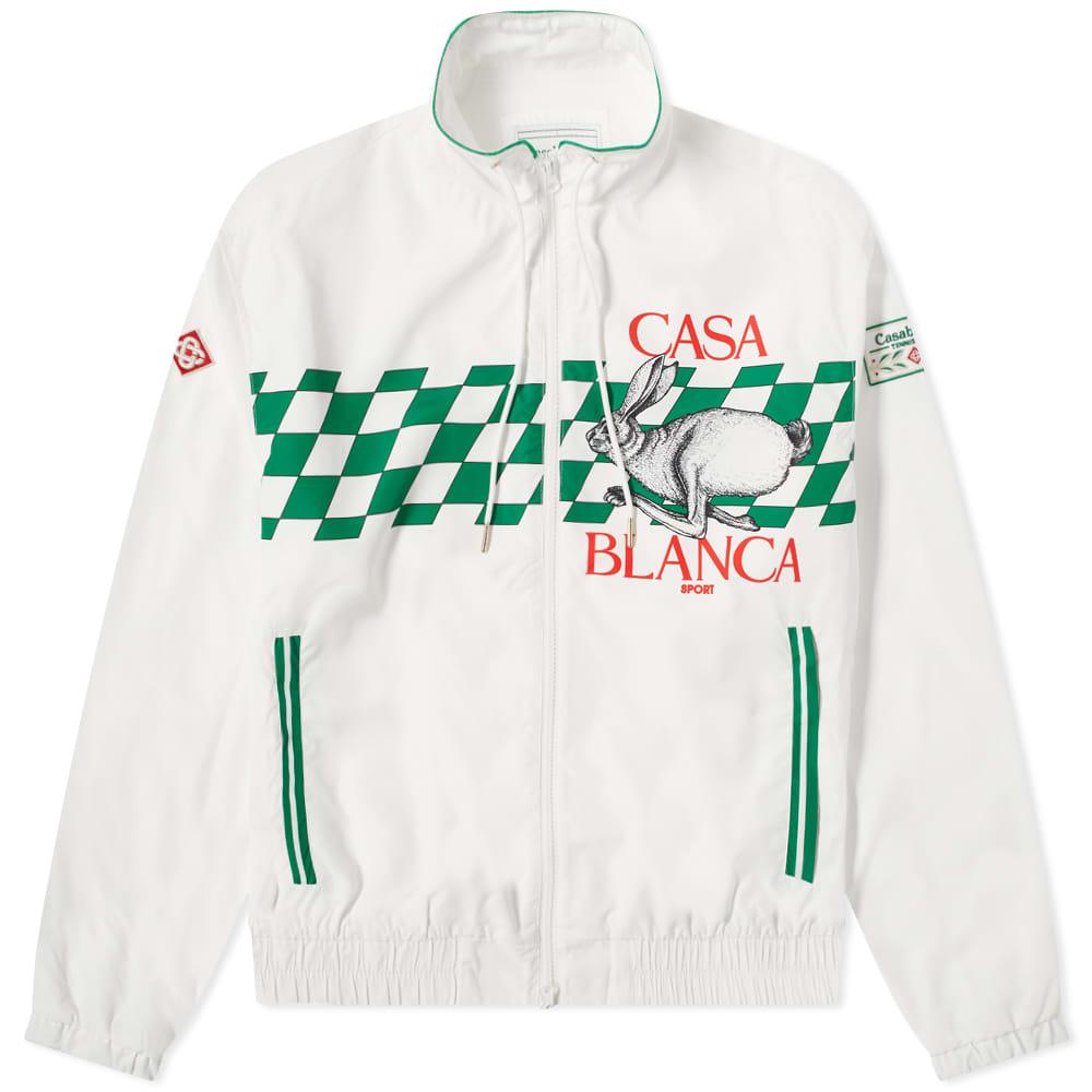 Casablanca Casa Sport Track Top - White
