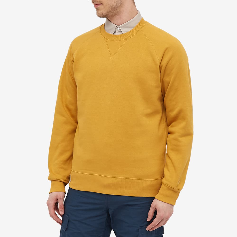 Carhartt WIP Chase Sweat - Helios & Gold