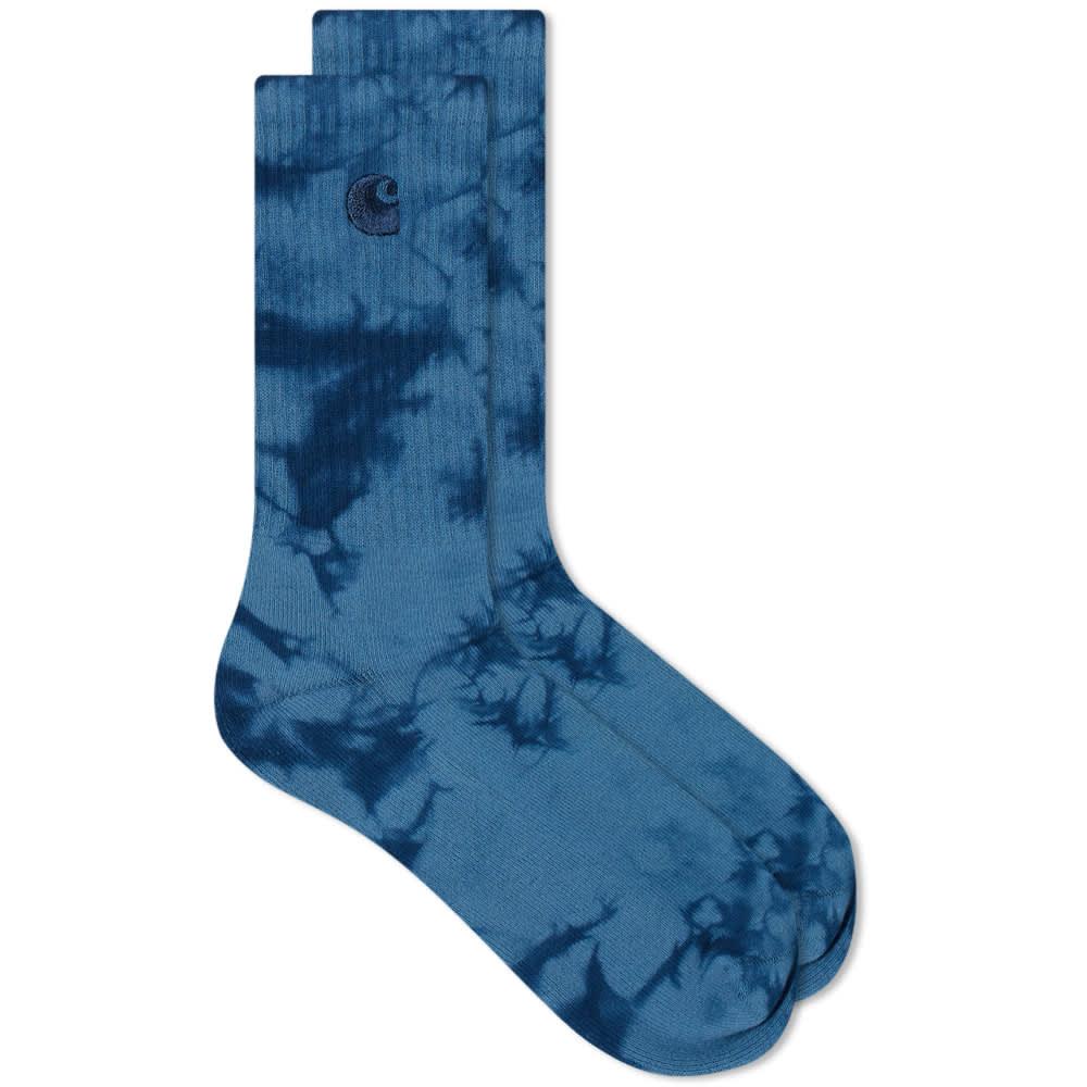Carhartt WIP Vista Tie Dye Sock - Indican & Skydive