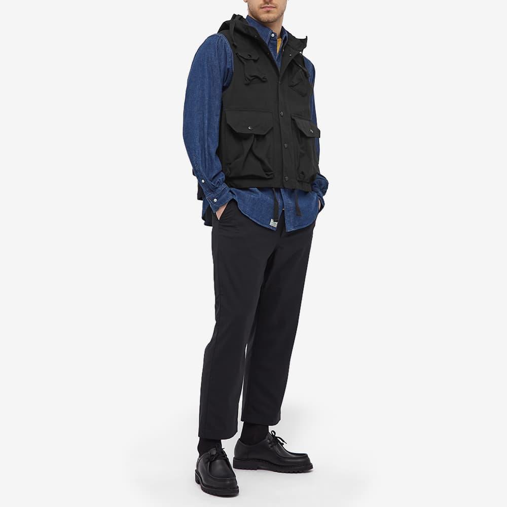 Engineered Garments Ripstop Field Vest - Black Ripstop