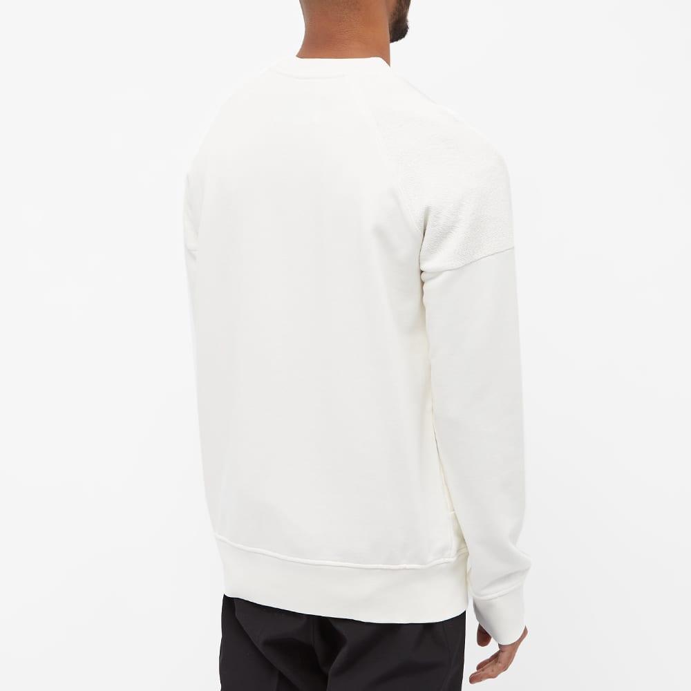Casablanca Reverse Loopback Panel Sweatshirt - Off White