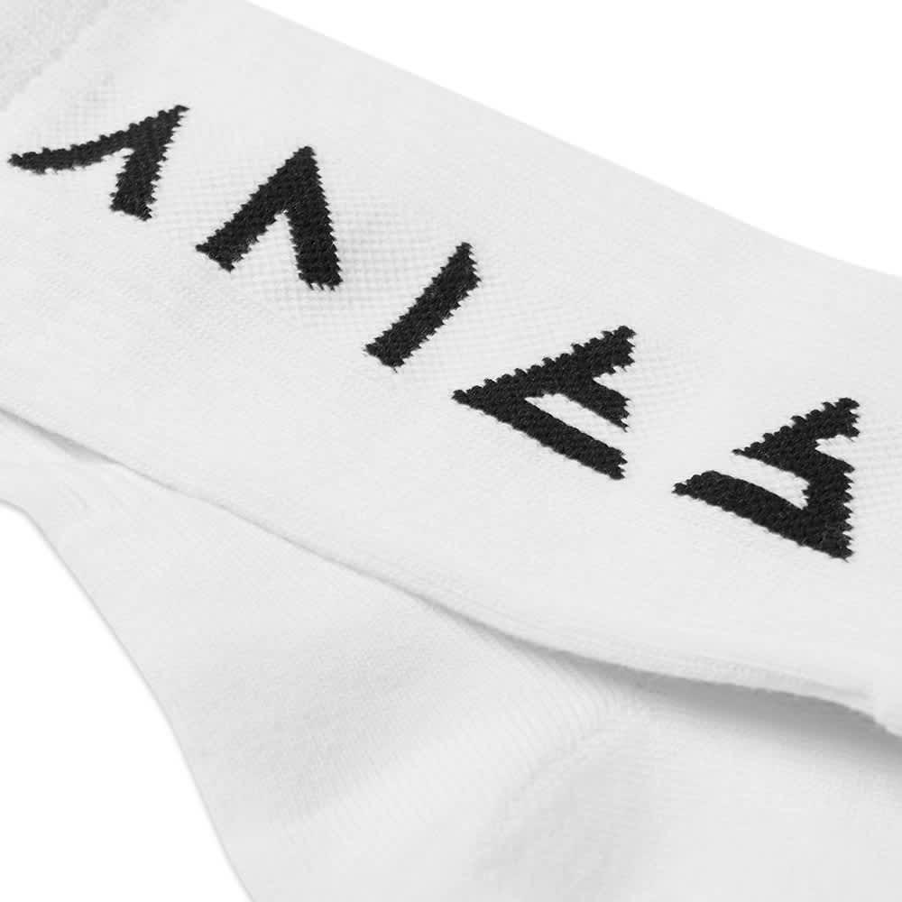 Aries Rune Socks - White