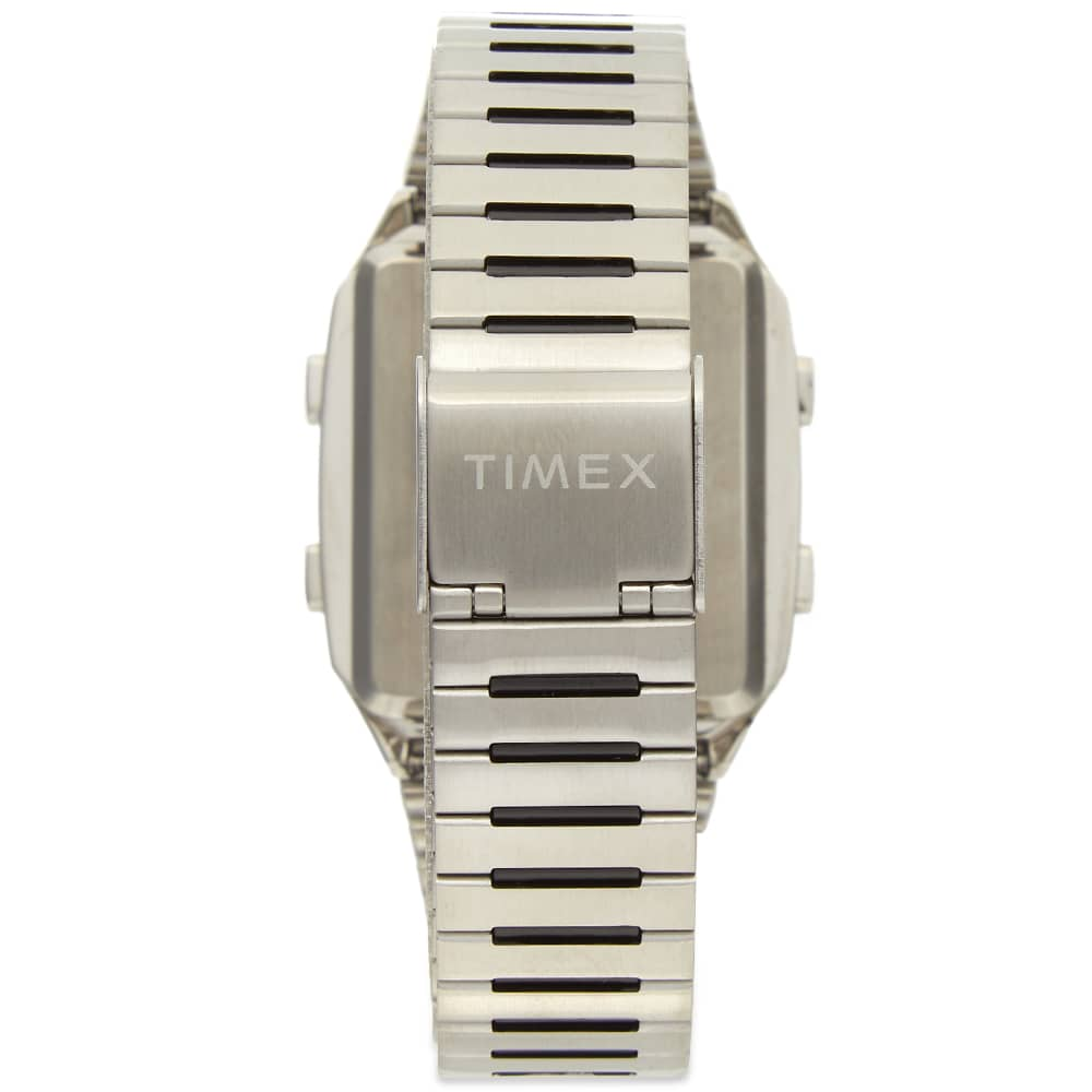 Timex Archive Q Timex Archive Lca Reissue Digital Watch - Silver