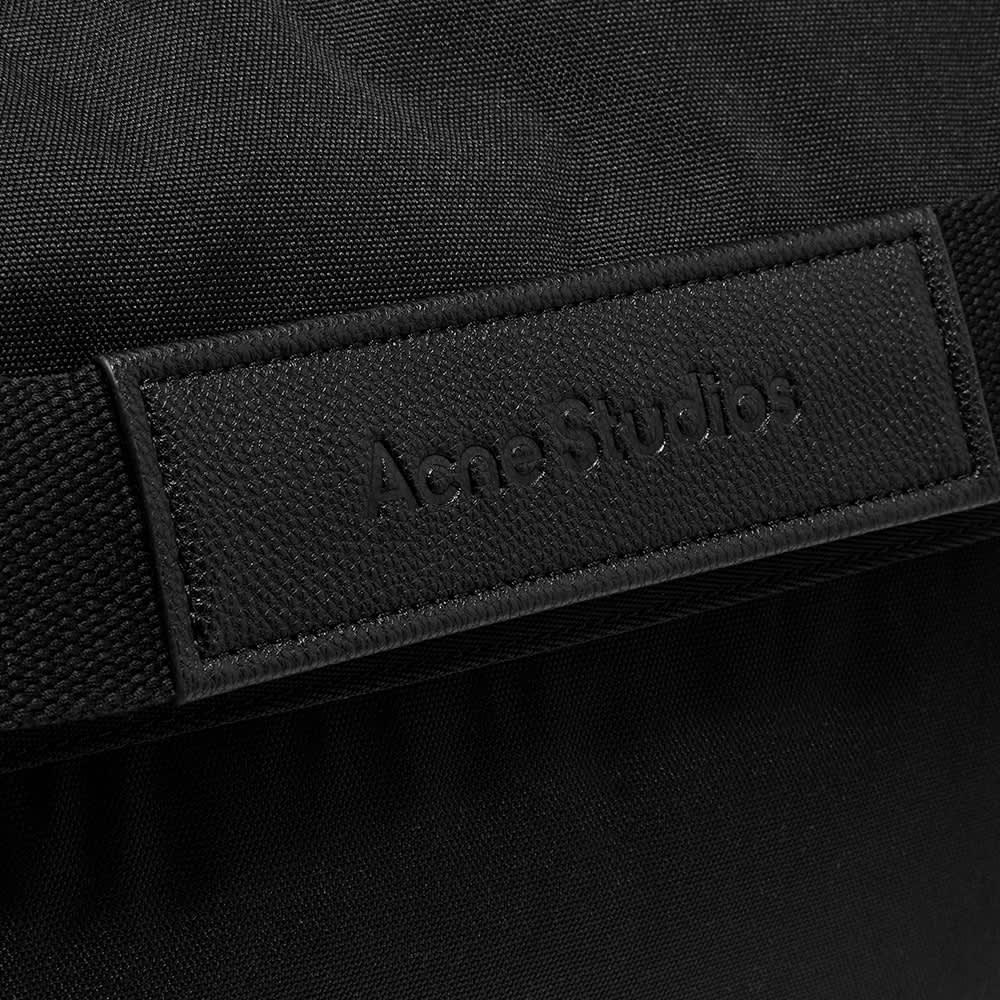 Acne Studios Large Messenger Bag - Black