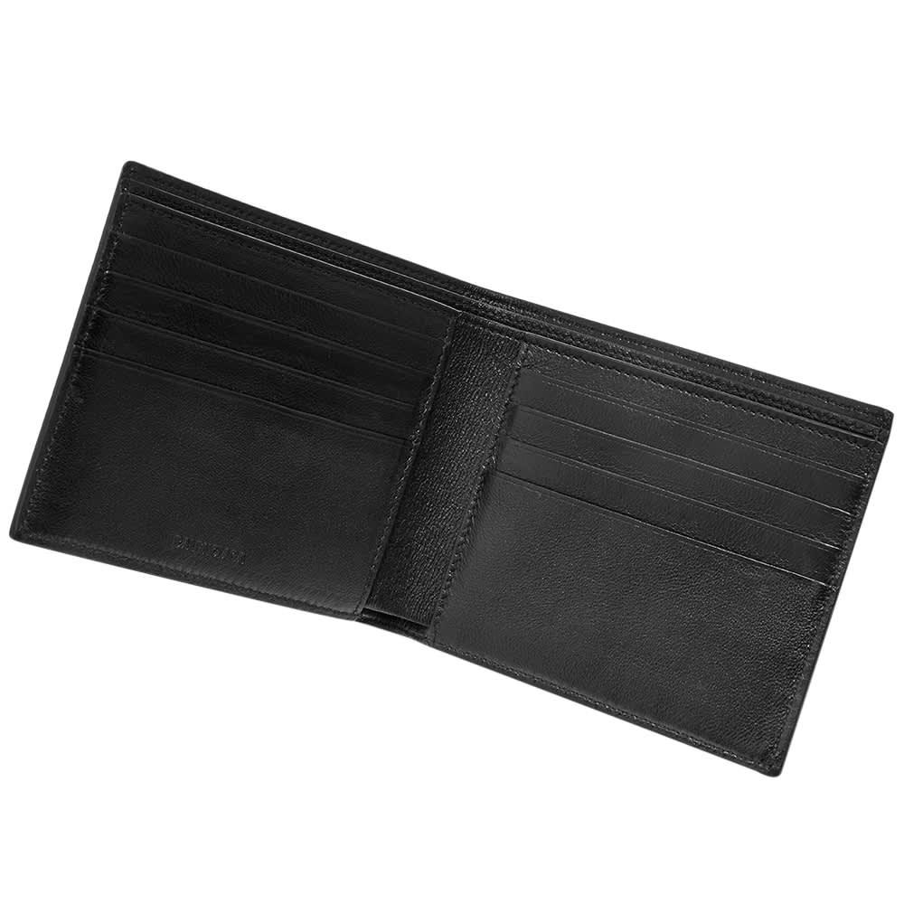 Balenciaga Logo Billfold Wallet - Black & White