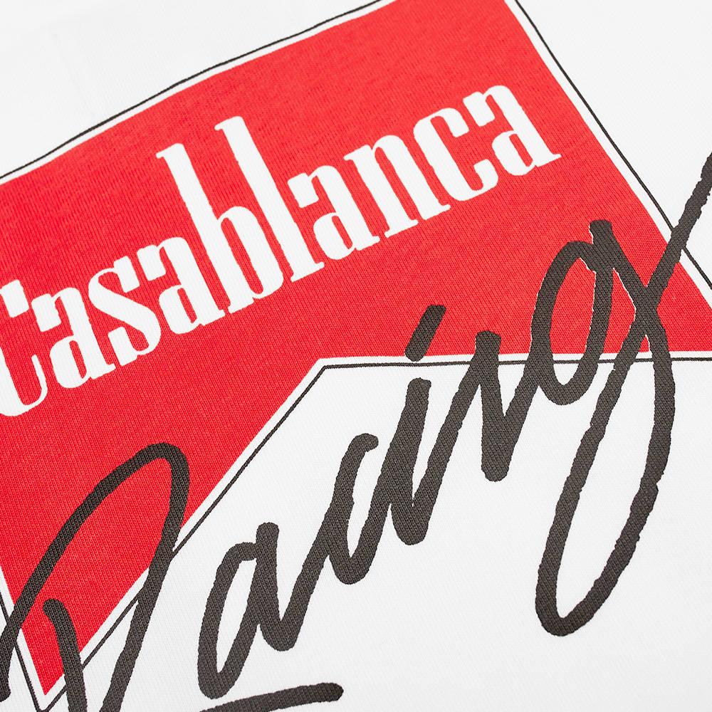 Casablanca Casa Racing Tee - White