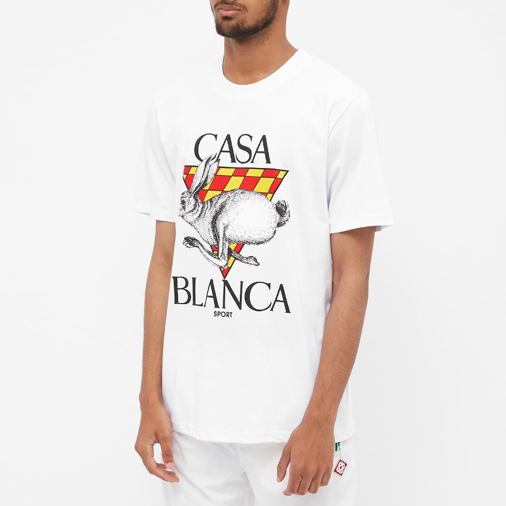 Casablanca Casa Sport Logo Tee - White