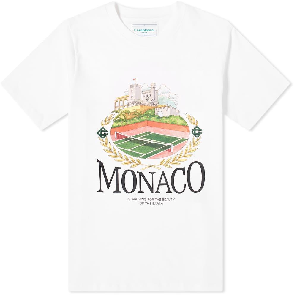 Casablanca Monaco Tee - White