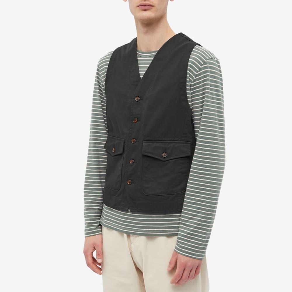 Universal Works Field Waistcoat - Black