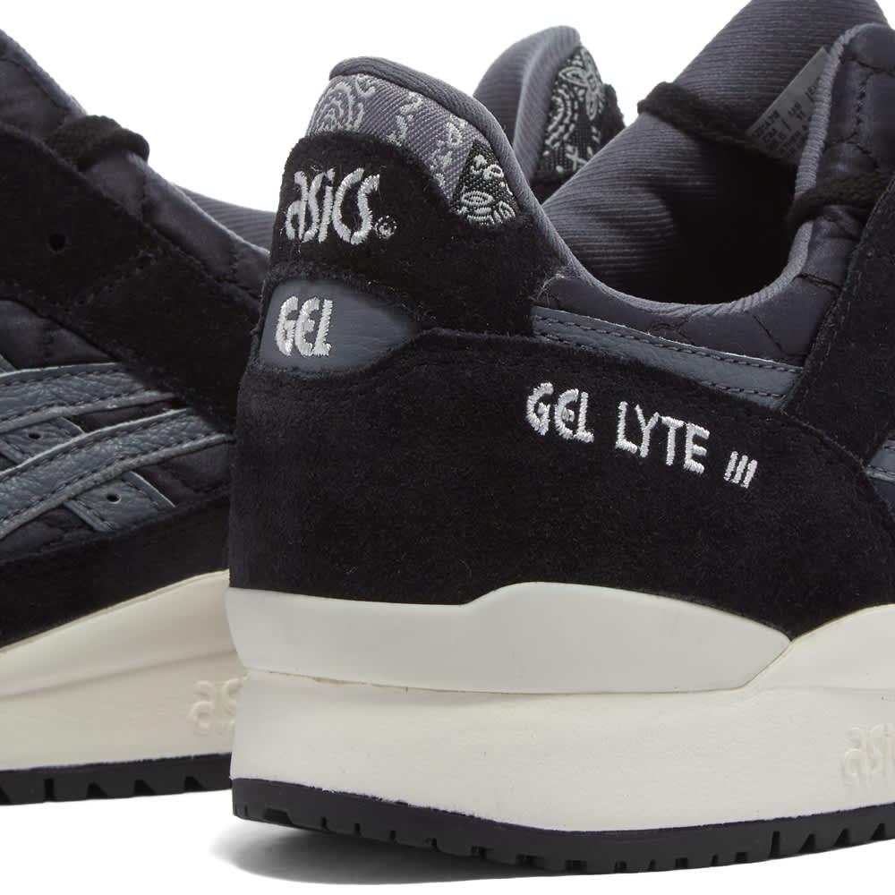 Asics Gel-Lyte III OG Paisley - Black & Cream