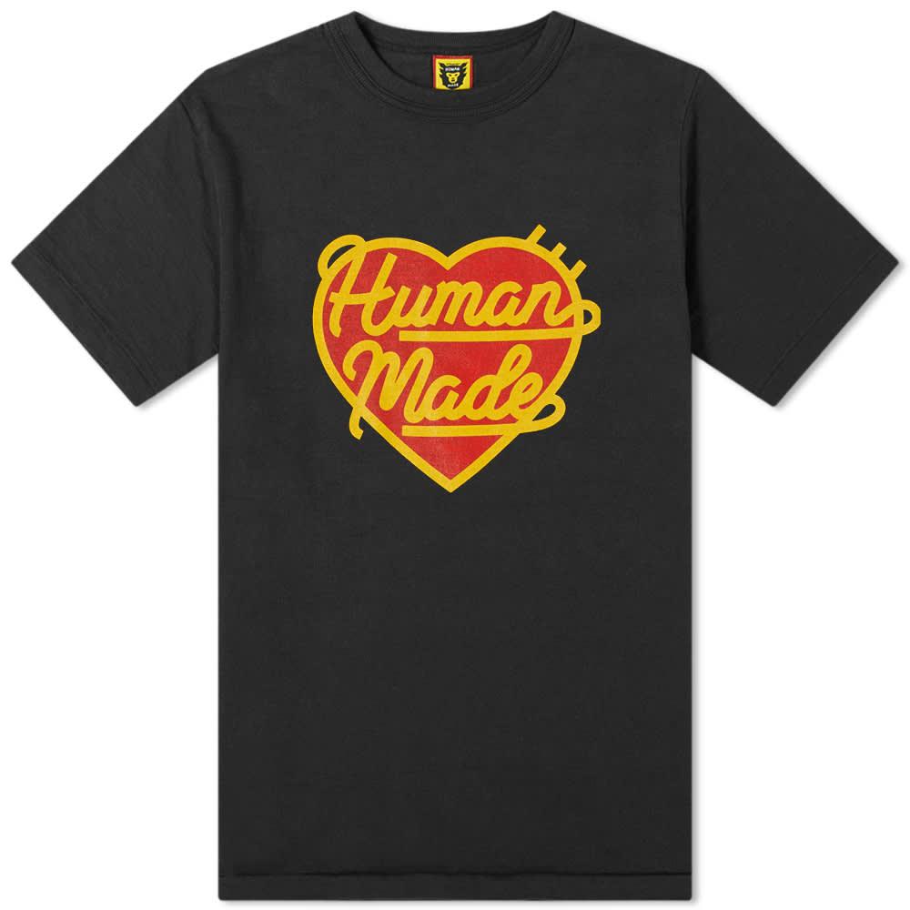 Human Made Heart Tee - Black