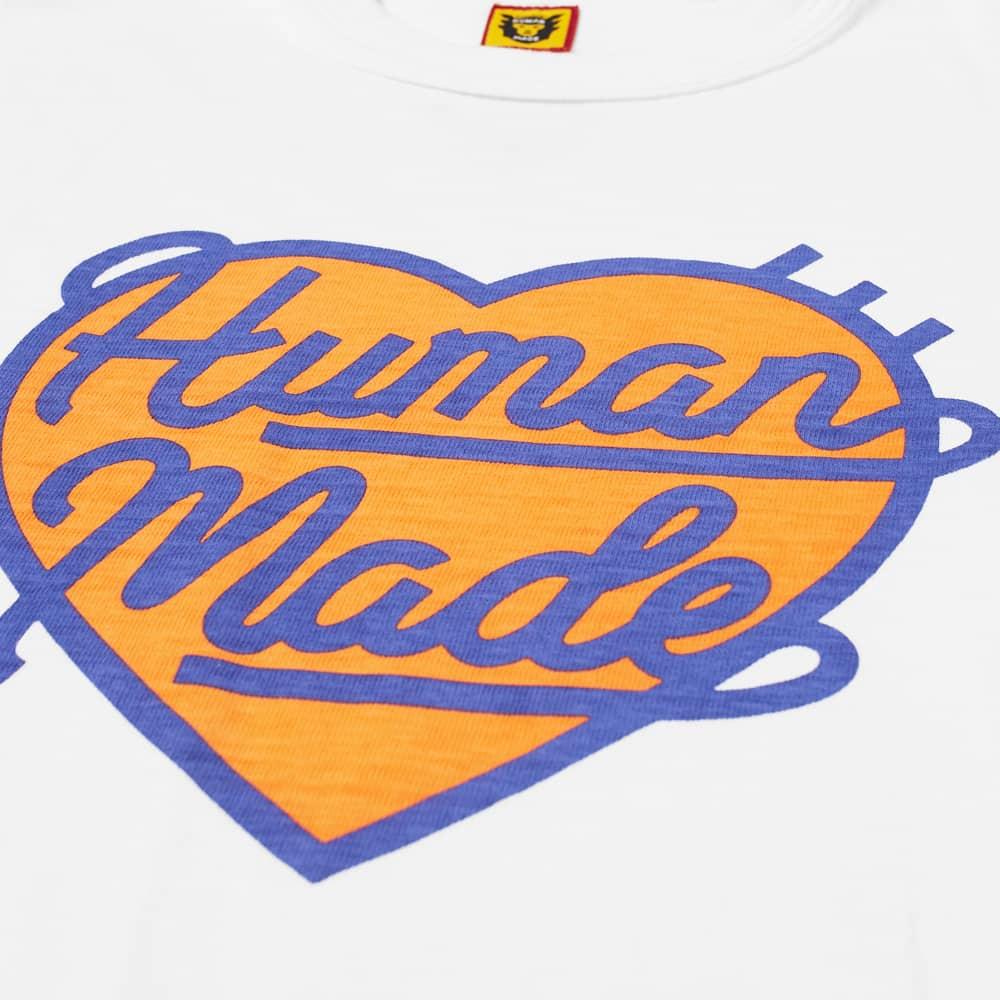 Human Made Heart Tee - White