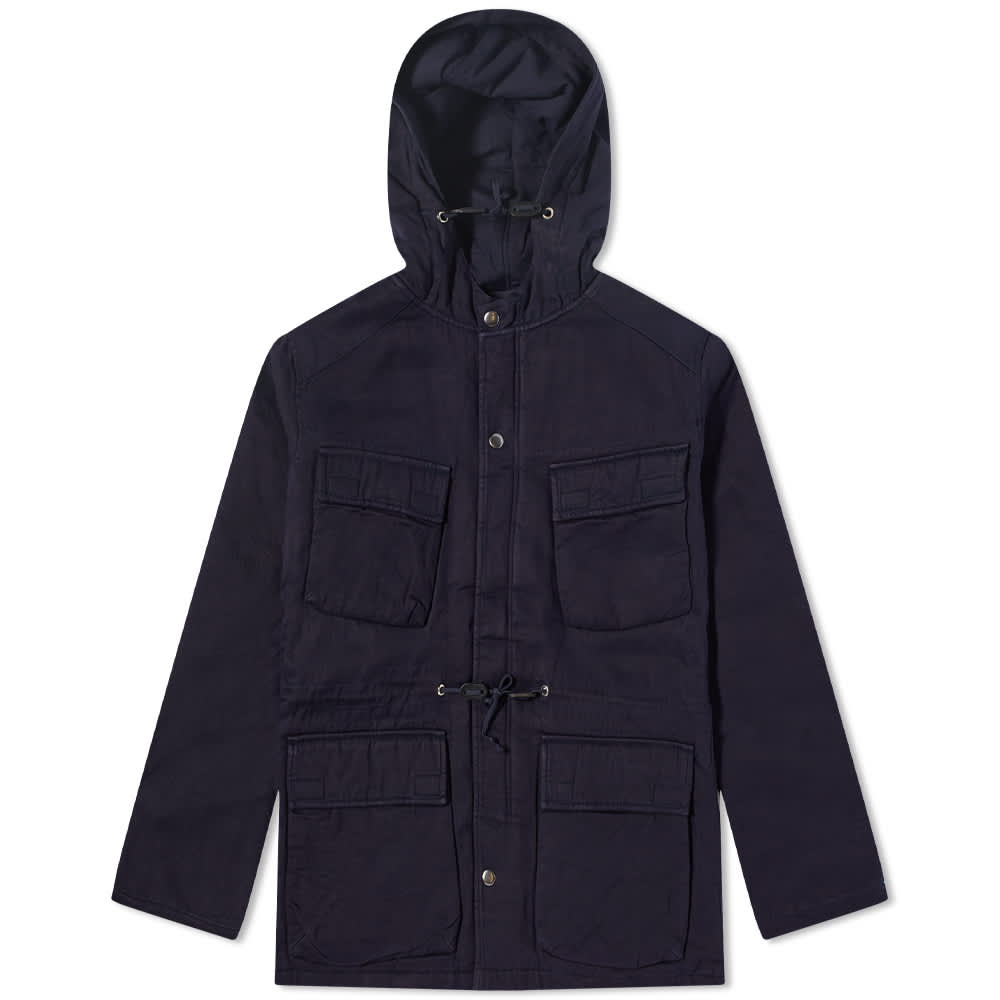 Universal Works Padded Ns Parka - Navy