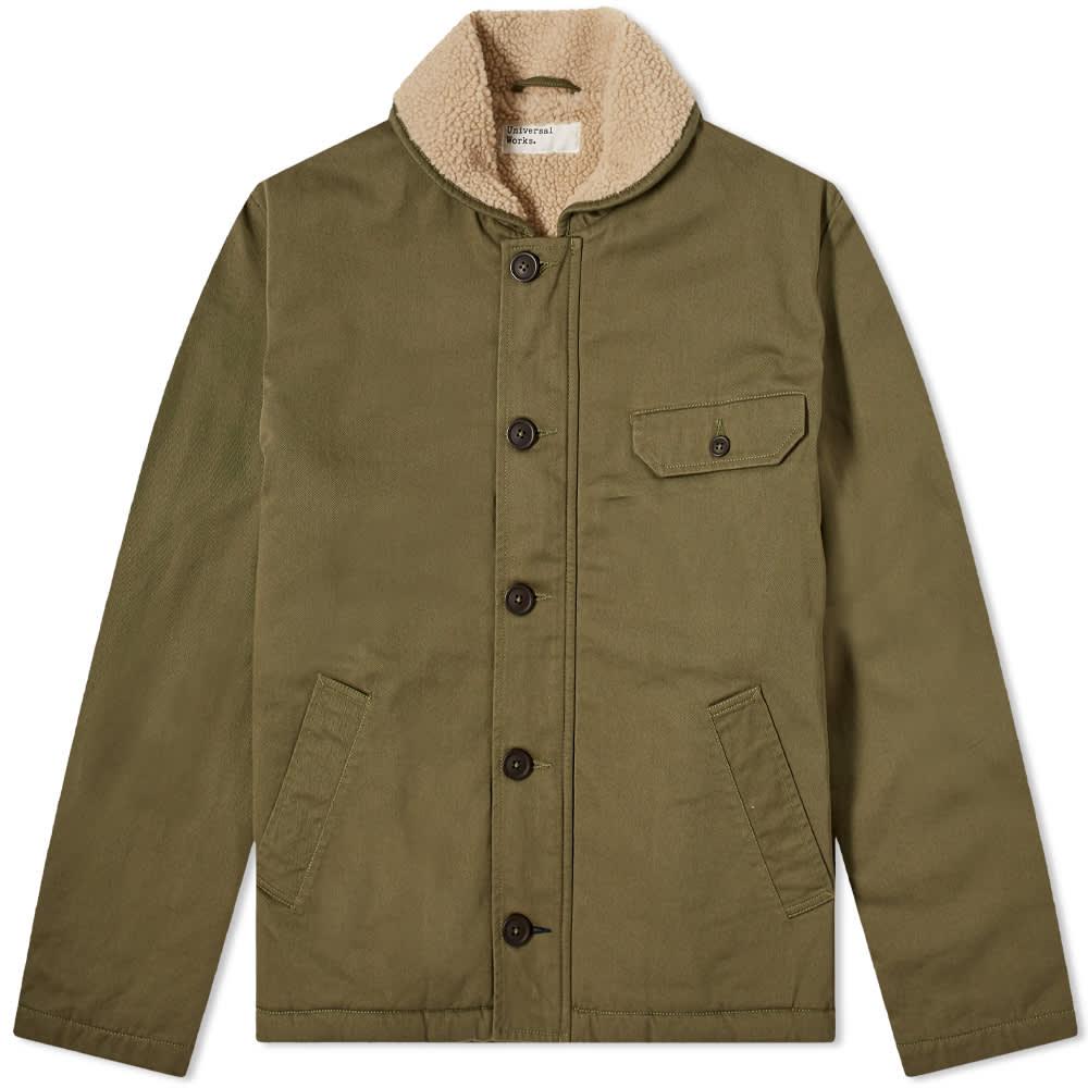 Universal Works N1 Jacket - Light Olive