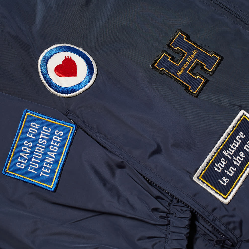 Human Made Patch Detail Jacket - Navy